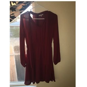 Charlotte Russe Dresses - Burgundy Dress